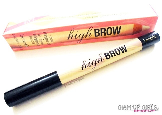 Benefit High Brow Eyebrow highlightening Pencil - Review and Swatches