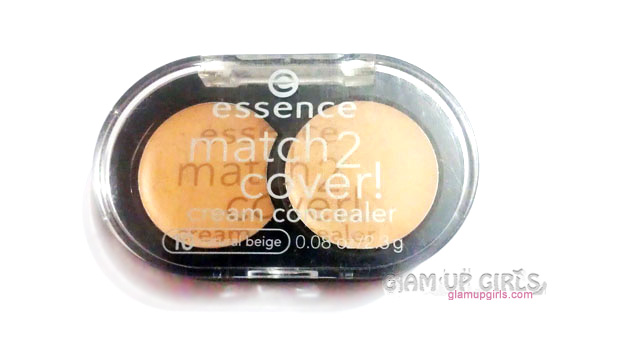 Essence Match 2 Cover Cream Concealer in Natural Beige - Review