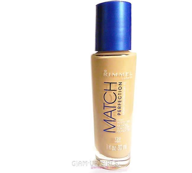 Rimmel Match Perfection Foundation - Review and Swatches