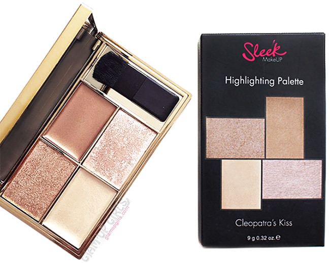 Sleek Makeup Highlighting Palette in Cleopatra's Kiss - Review and Swatches