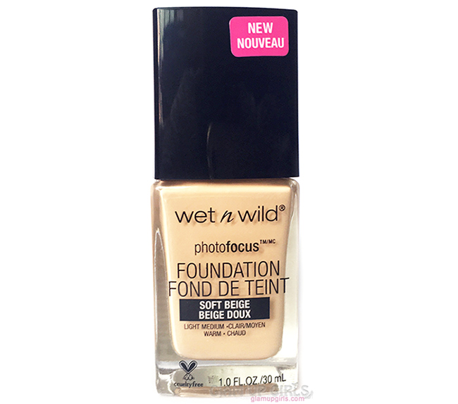 Wet n Wild Photo Focus Foundation - Review and Swatches