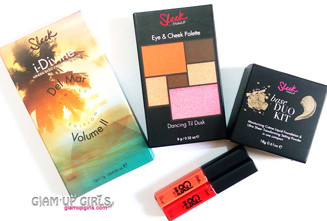 Makeup Haul from Sleek Makeup