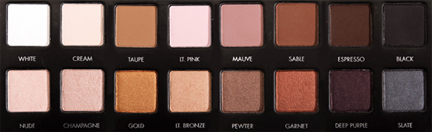 Lorac Pro Eyeshadow Palette - Review and swatches