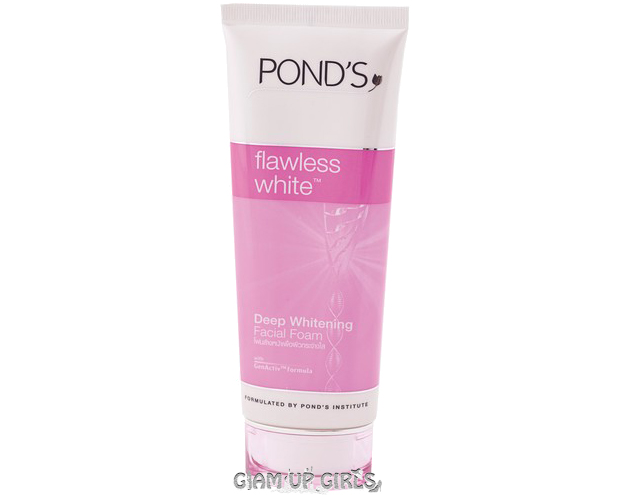 Ponds Flawless White Deep Whitening Facial Foam - Review