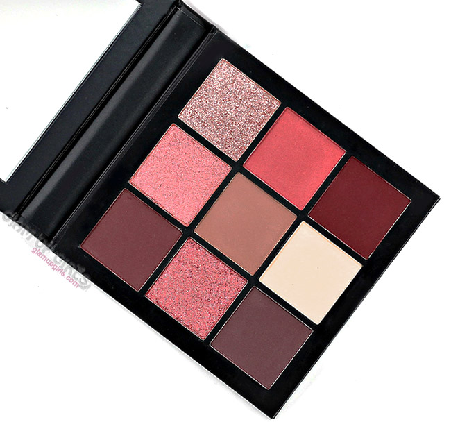 Huda Beauty Mauve Obsessions Eyeshadow Palette - Review and Swatches