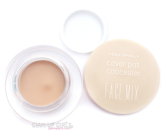 TonyMoly Face Mix Cover Pot Concealer Review