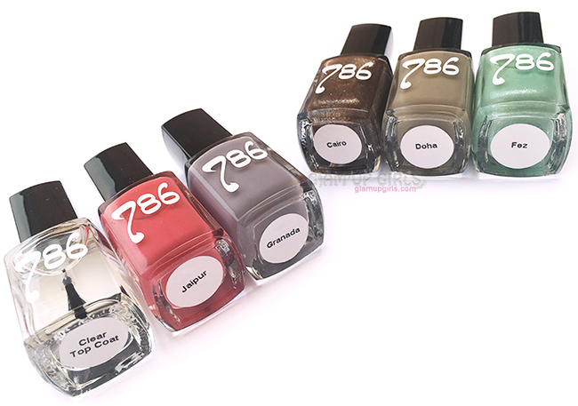 786 Cosmetics Halal Nail Enamel, Wudu friendly Nail Polish - Review