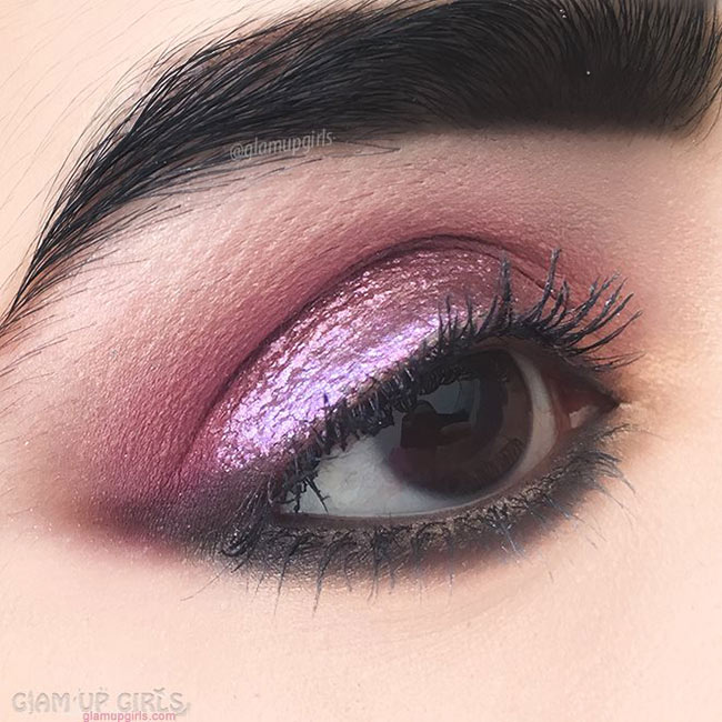 Rose Gold Eye Makeup - EOTD