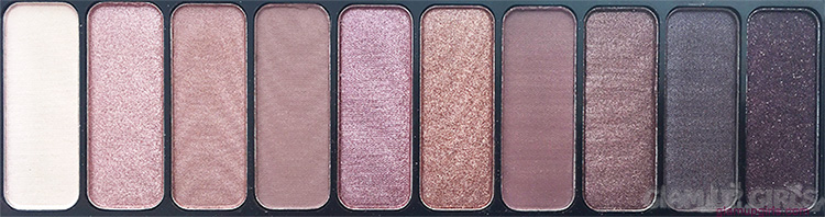 e.l.f. Rose Gold Eyeshadow Palette Close Up