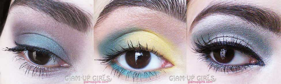 Eye look created with Sleek Makeup i-Divine eyeshadow palette in Del Mar Voloume II