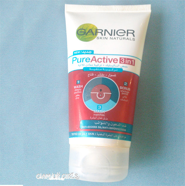 Garnier Skin Naturals - Pure Active 3in1 - Review
