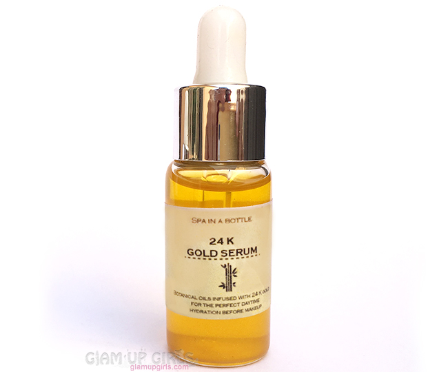 Spa in a Bottle 24k Gold Serum - Review
