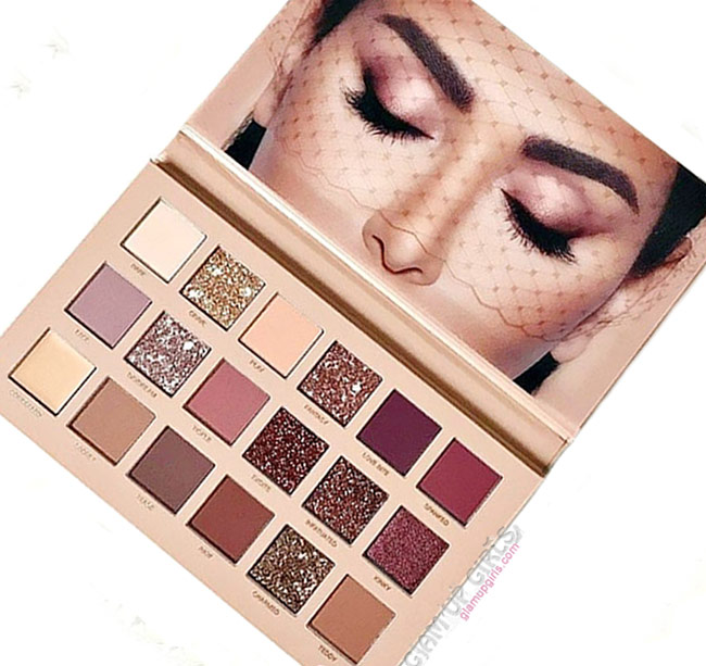 Huda Beauty New Nude Eyeshadow Palette - Review and Swatches