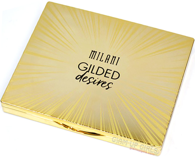 Milani Gilded Desires Eye and Face Palette