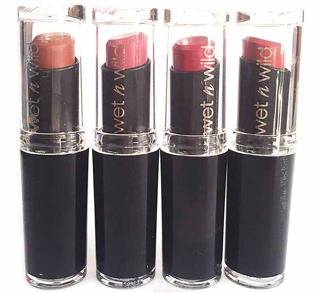 Wet n Wild Mega Last Matte Lip Cover Lipstick - Review and Swatches