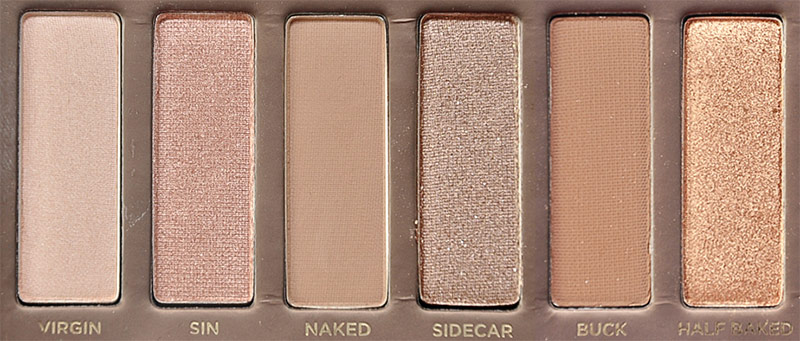 Urban Decay NAKED Palette Left Side