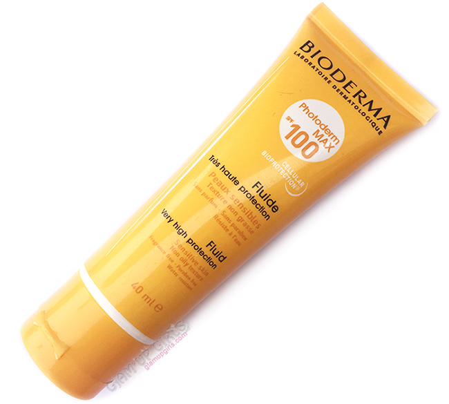 Bioderma Photoderm MAX Fluide SPF 100  Sunblock - Review