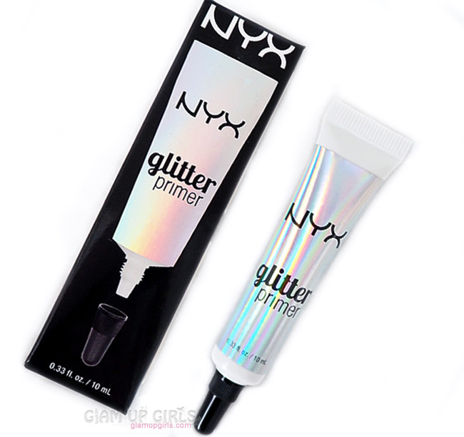 NYX Glitter Primer - Review and Swatches
