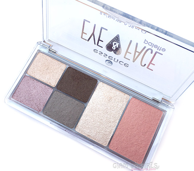 Essence Eye and Face Palette in Glow For It - Review and Swatches