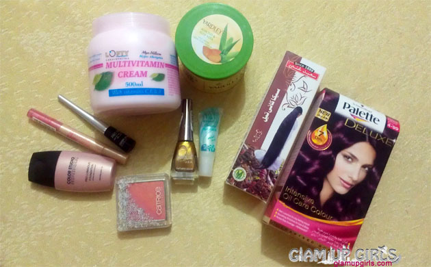 November Makeup and Beauty care Haul