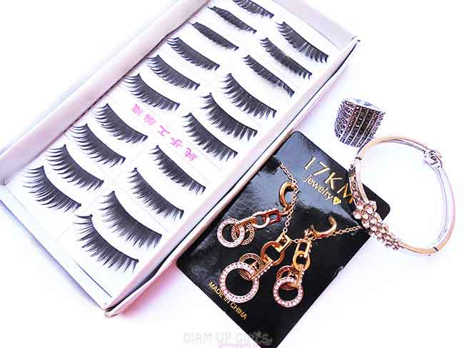 False Eye Lashes and Fashion Jewelry from Born Pretty Store