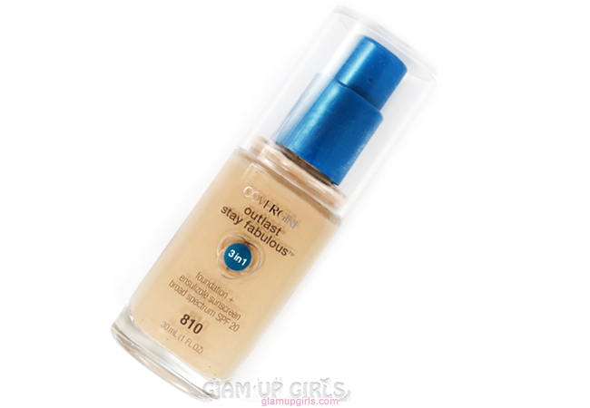 Covergirl Outlast Stay Fabulous 3-in-1 Foundation Review
