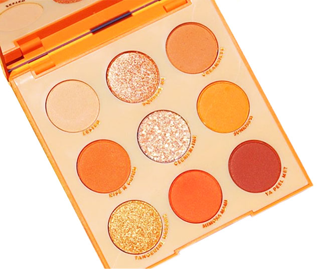 ColourPop Orange you glad? Shadow Palette - Review and Swatches
