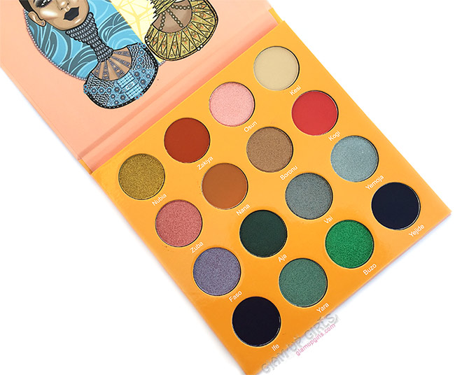 Juvia's Place The Magic Mini Eyeshadow Palette