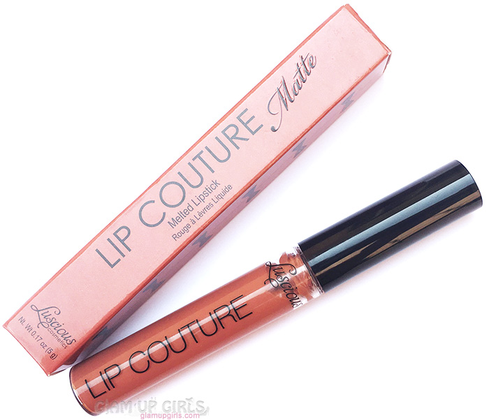 Luscious Lip Couture Matte Melted Lipstick