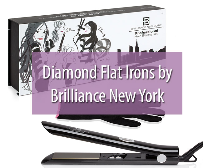 Diamond Flat Irons by Brilliance New York