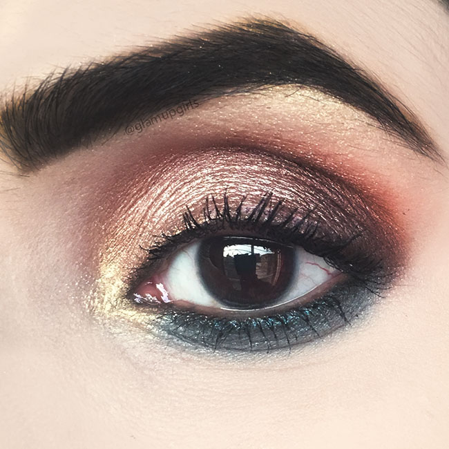 Rosy Turquoise Eye Makeup Look - EOTD
