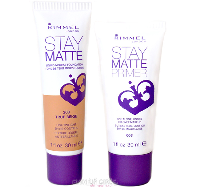 Rimmel London Stay Matte Liquid Mousse Foundation and Primer - Review and Swatches