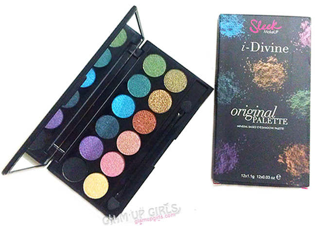 Sleek Makeup i-Divine Eyeshadow Palette in Original - Review and Swatches