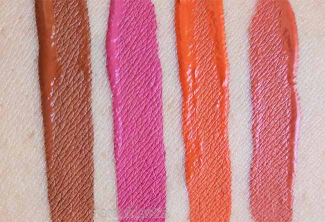 Water Proof, Longlasting, Lipgloss by Color Institute Italy Swatches