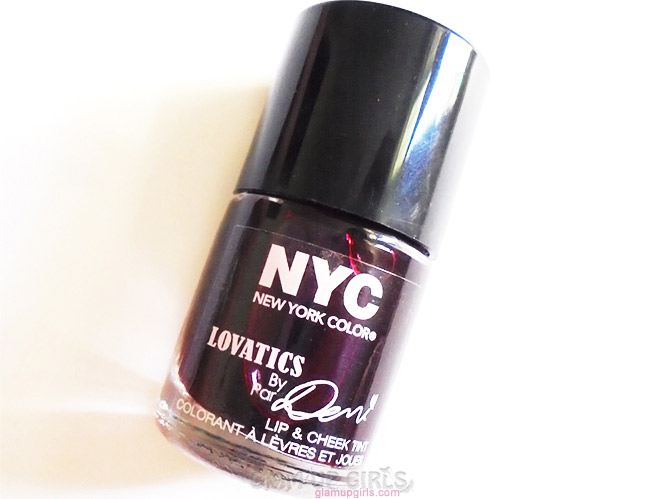 NYC Lovatics by Demi Lip and Cheek Tint in Cheeky Berry