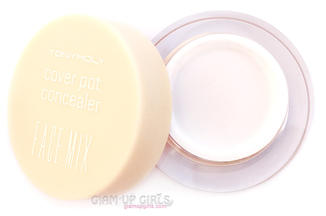 TonyMoly Face Mix Cover Pot Concealer Packaging