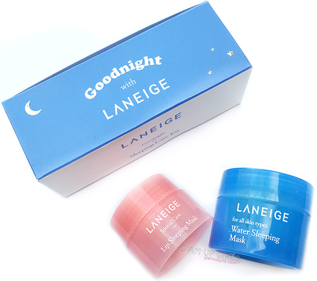 Laneige Water Sleeping Mask and Lip Sleeping Mask - Review