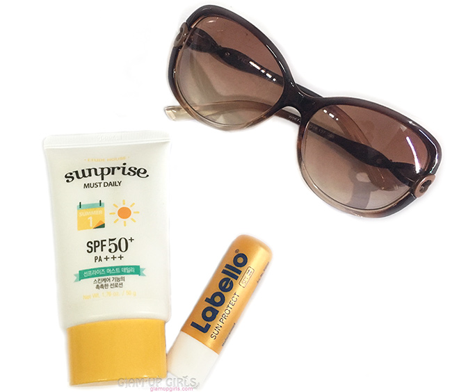 Sun Protection with Etude House Sunprise Must Daily SPF50 and Labello Sun Protect Lip Balm SPF30 - Review