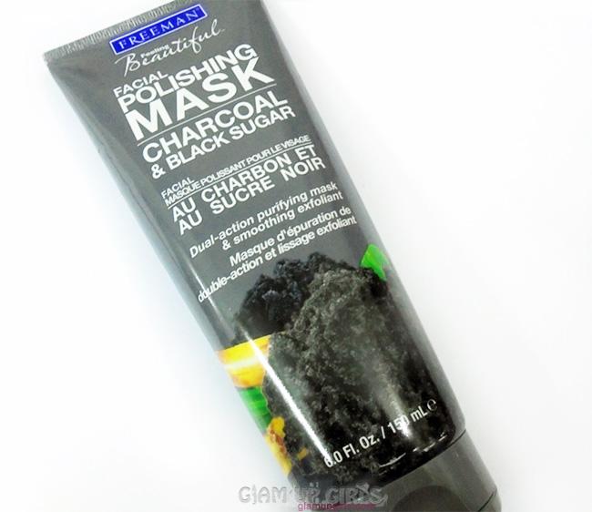 Freeman Charcoal and Black Sugar Polishing Mask - Review