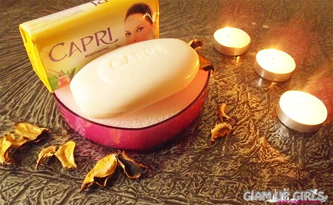 Capri Aloe Nurture Extract Soap - Review and Gift Basket Detail