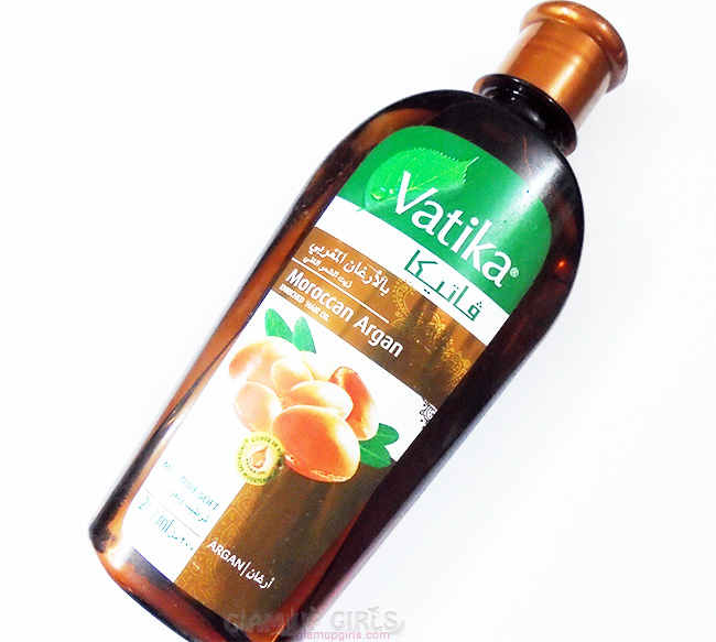 Vatika Moroccan Argan Enriched Hair Oil - Review
