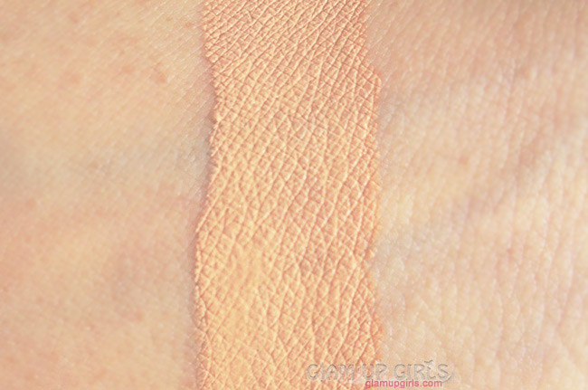 Masarrat Misbah Makeup Silk foundation in Almond swatched