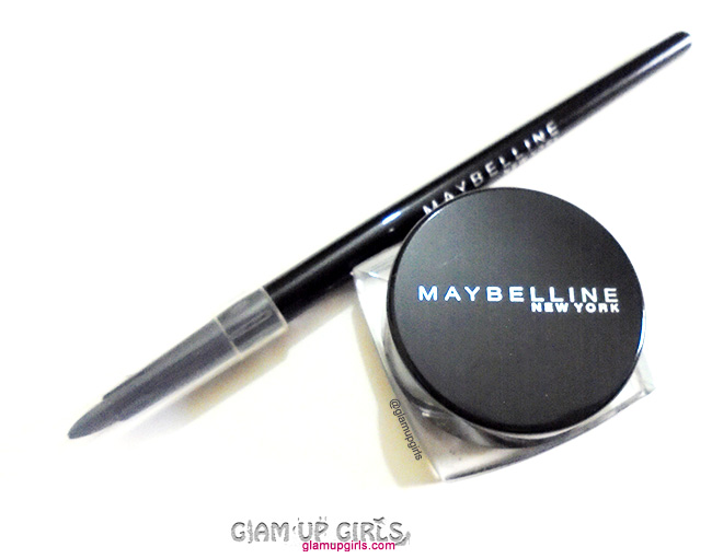 Maybelline Eye Studio Lasting Drama Gel Eyeliner Up To 36 hours in Black - Review and Swatches