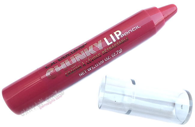 L.A. Colors Chunky Lip Pencil in Rose