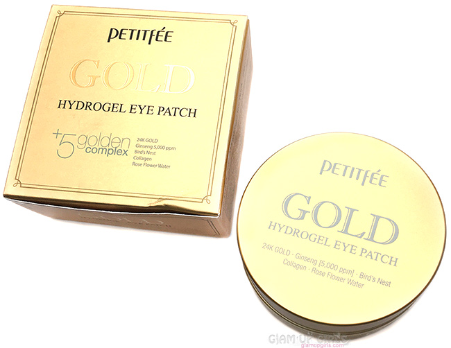 Petitfee Gold Hydrogel Eye Patch - Review