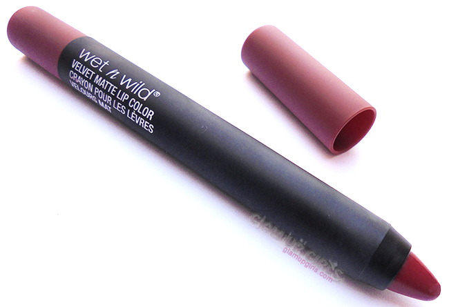 Wet n Wild Velvet Matte Lip Color in Hickory Smoked - Review and Swatches
