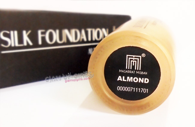 Masarrat Misbah Makeup Silk foundation in Almond