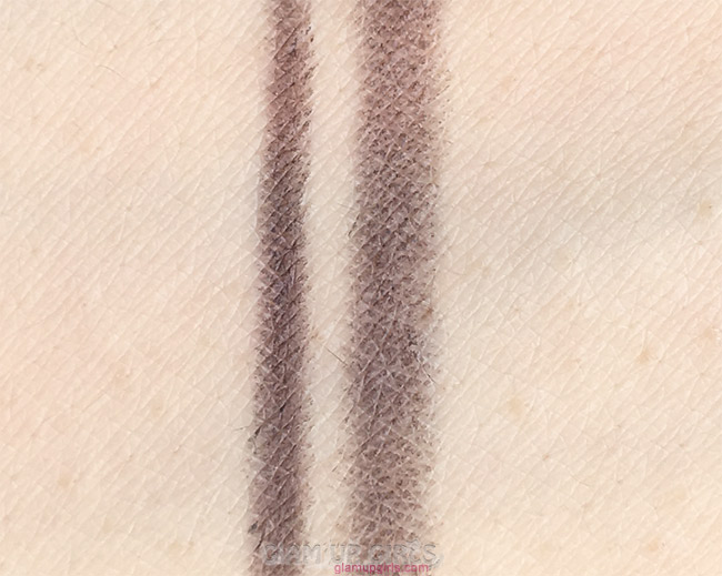 Swatches of Luscious Brow Luxe Designer Pencil in shade 03