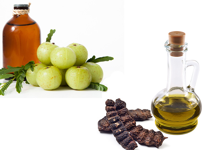 Amla oil and shikakai oil for hairs