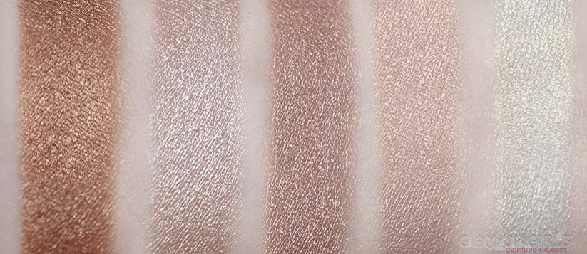 Makeup Revolution Vivid Shimmer Brick in Radiant Swatches